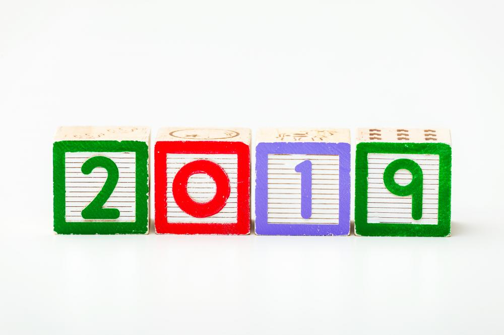 wooden-block-for-year-2019